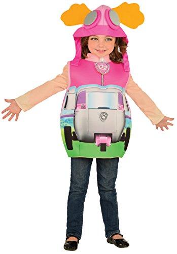 Rubie 's Offizielles Paw Patrol Skye + Tasche Mädchen Fancy Kleid Pilot Hund Kinder Kostüm Outfit