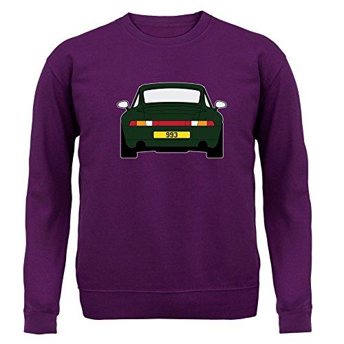 Porsche 993 Grün - Unisex Pullover/Sweatshirt - 8 Farben Lila