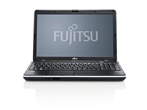Fujitsu Lifebook A512 39,6cm (15 Zoll) Notebook (Intel Core i3-3110M, 2,4 GHz, 4GB, 320GB, DVD, Windows 8) schwarz