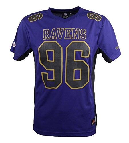 Majestic NFL BALTIMORE RAVENS Moro Mesh Jersey T-Shirt, Größe:XL
