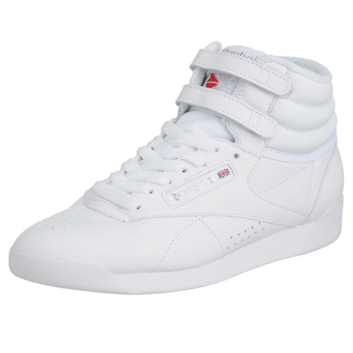 Reebok Freestyle Hi, Sneakers da Donna, Bianco (int-white/silver), 37