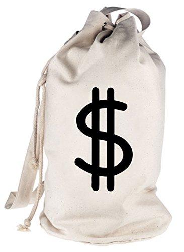 Dollar Geldsack für Panzerknacker Fans, Größe: onesize,natur