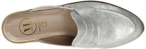 Vitti Love Damen 602-795 Clogs Silber (Plata)
