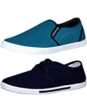 Chevit Men's Combo Pack of 2 Casual Shoes