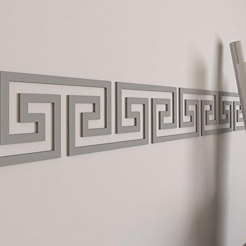 HomeArtDecor - Griechische Schlüssel Wall Border - Wall Border - Wohnheim Dekor - griechische Grenze - Wandkunst - griechische Kunst - griechische Muster - Office Art - Inneneinrichtungen Griechischen Grenze