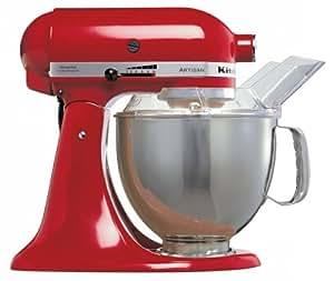 KitchenAid Artisan KSM150BER Stand Mixer Imperial Red