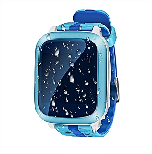Ca@Mp LCD Kids Smart Watch Telefon GPS-Tracker Call/SOS/Sim-Karte Slot/Elektronischer Zaun/Alarm/Pedometer Anti-Verlorene Kinder GPS-Locator Finder Für IOS & Android