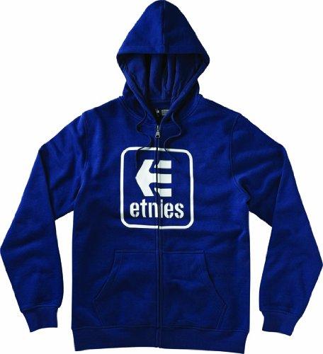 Etnies Herren Sweatshirt STACKING UP ZIP FLEECE HARBOR BLUE