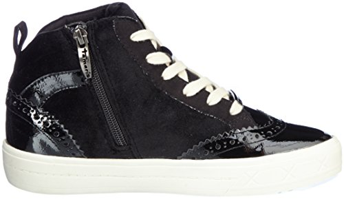 Tamaris Damen 25207 Hohe Sneaker Schwarz (Black Comb)