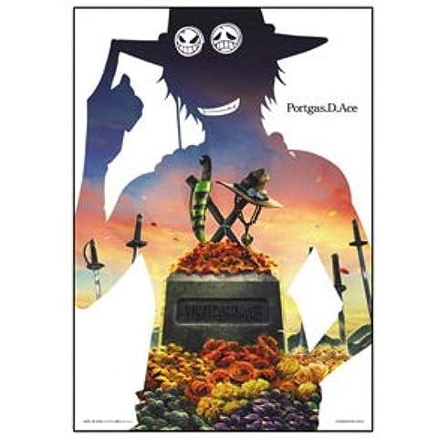 One Piece Geschichte der Lotterie Ace G Preis Klar Poster Design B einen Artikel am meisten (Japan-Import)