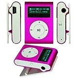 Dealsplant Sport Mini MP3 Player With LCD Screen / Mini Clip Multicolor Portable MP3 Music Player With Micro TF / SD Card Slot