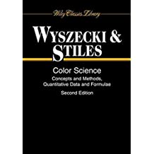 Color Science: Concepts and Methods, Quantitative Data and Formulae