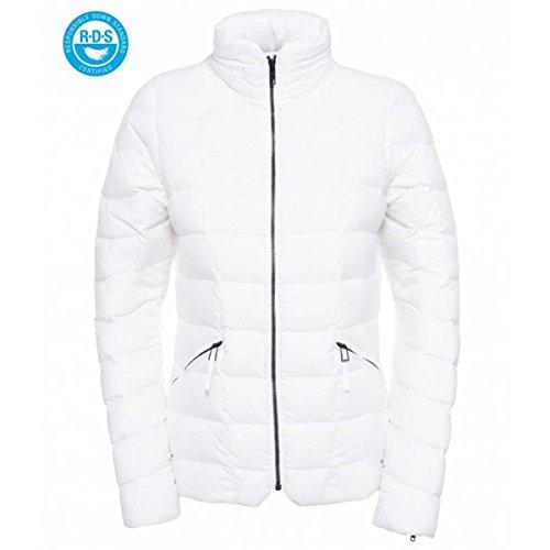 The North Face W Cats Meow Short Jacket Veste pour femme, blanc, Taille XS