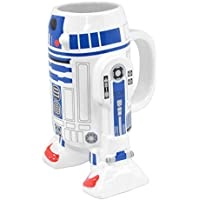 Star Wars - Taza de cerámica, diseño R2-D2 3D, sin tapa