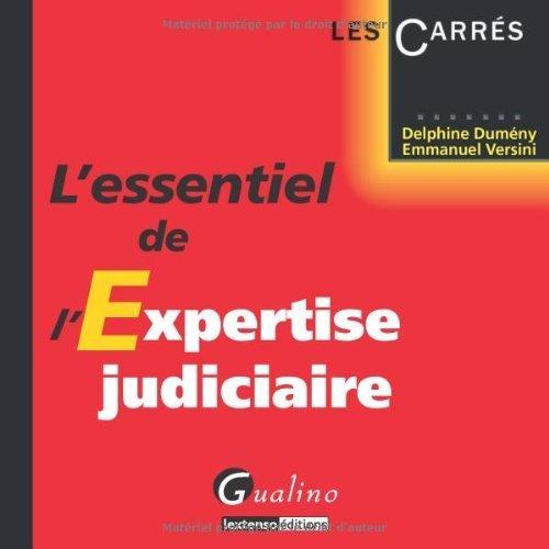 L'essentiel de l'expertise judiciaire de Delphine Dumeny (6 mai 2014) Broch