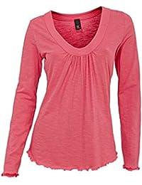 BEST CONNECTIONS Plissee Shirt Gr 38 silbergrau Longshirt oversized neu