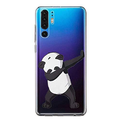 Hülle Case Kompatibel für Huawei P30 Handyhülle,Huawei P30 Pro Schutzhülle Ultradünn Transparent Silikon Soft TPU Crystal Clear Bumpe Schutzhülle für Huawei P30 Lite (3, Huawei P30) -