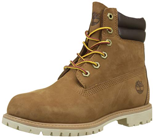 Timberland Waterville 6 Inch Basic Waterproof, Botas para Mujer, Marrón Light Brown Nubuck 919, 38...