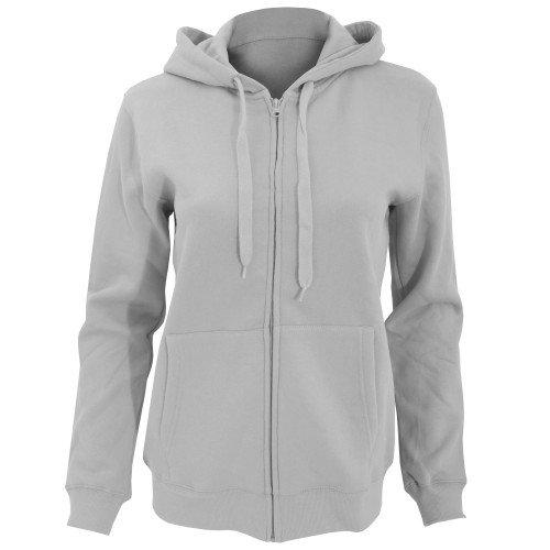 SOLS Seven - Sweatshirt à capuche et fermeture zippée - Femme