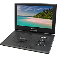 Sylvania SDVD1332 13.3-Inch Swivel Screen Portable DVD Player with USB/SD Card Reader (Renewed)