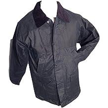 Chaqueta acolchada UNISEX cera superior calidad doble fold cera fabricado en Reino Unido