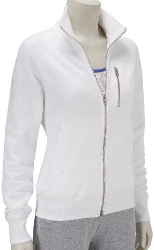 Nike Loopwheeler Veste pour femme Blanc - blanc