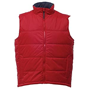 41Yzy337rLL. SS300  - Regatta Men's Stage Padded Promo Bodywarmer Classic Red - 3XL