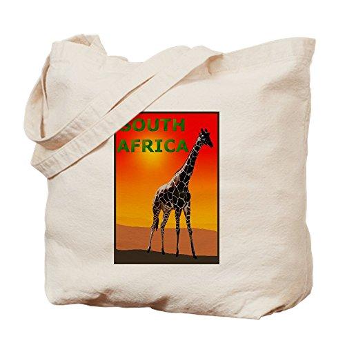 CafePress-Giraffe Südafrika Tasche-Leinwand Natur Tasche, Reinigungstuch Einkaufstasche Tote S khaki