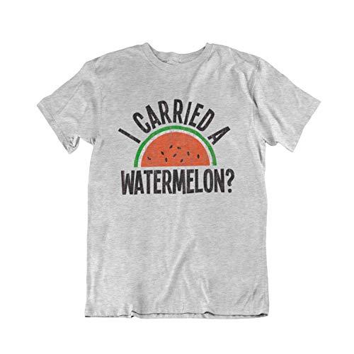Buzz Shirts - I Carried A Watermelon? - Herren Damen Unisex Classic Movie T-Shirt - Zeit Ringer T-shirt