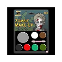 Scream Machine Zombie Halloween Makeup Multi Palette Vampire Kit