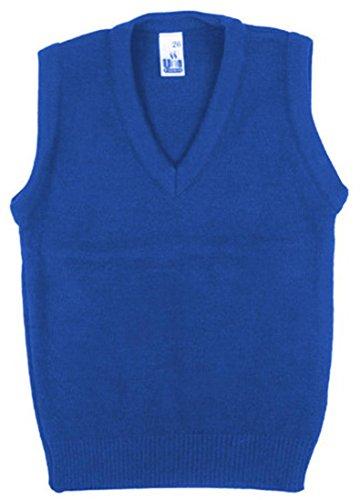 School Uniform bambini/adulti Formal Wear-Canottiera sportiva con collo a V, Maglia senza maniche da uomo