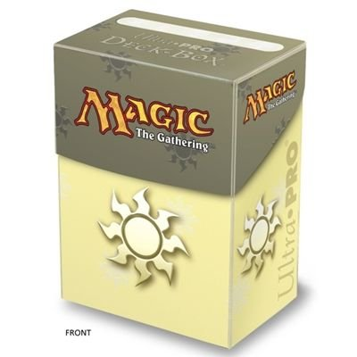 Deck Box: Magic the Gathering: Mana White