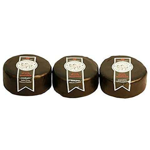 Black Bomber Mature Cheddar Trio, 3 x
