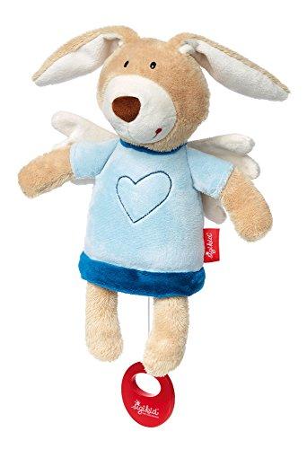sigikid, Jungen, Spieluhr, Schutzengel Hase, Blau, 41470