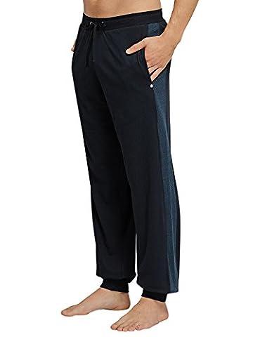 Schiesser Herren Schlafanzughose Mix&Relax Hose lang, Gr. Large (Herstellergröße: 052),