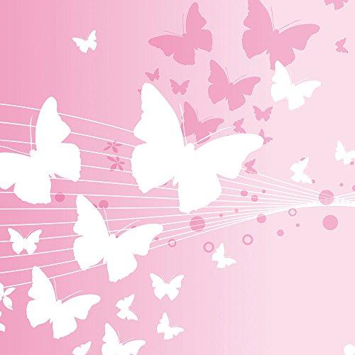 Apple iPhone 5 Housse Étui Silicone Coque Protection Papillon Cercles Fleurs Sideflip Sac