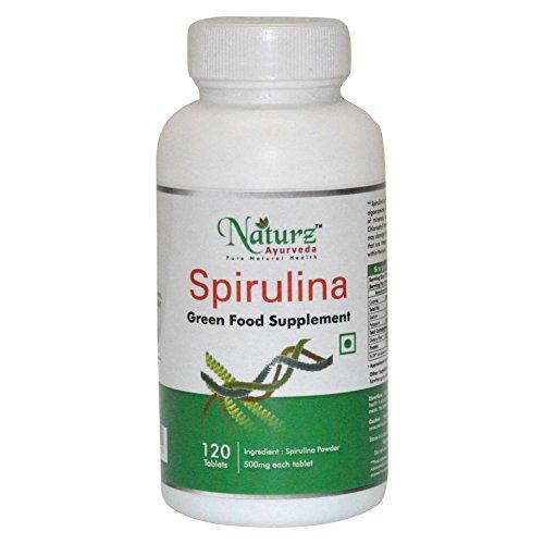 Naturz Ayurveda Spirulina - 120 Tablets