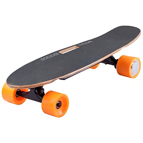 Go clever City Board 65 Cyclops Black Skateboard électrique Mixte Adulte, Gris
