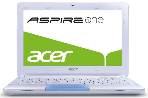 Acer Aspire one Happy 2 25,7 cm (10,1 Zoll) Netbook (Intel Atom N570, 1,6GHz, 1GB RAM, 250GB HDD, Intel 3150, Bluetooth, Win 7 Starter) blau (Gb Bluetooth 250)