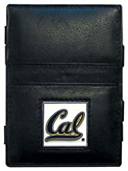 NCAA California Golden Bears Leather Jacob's Ladder Wallet