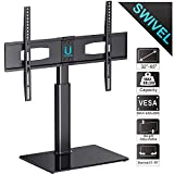 FITUEYES Swivel TV Stand Tabletop Bracket Mount for 32'' 42 43 45 47