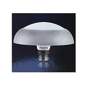 Philips Deco Ring Base B22 10-Watt LED Bulb (Pack of 2, Cool Day Light)