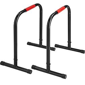TecTake Power Station Fitness Rack Heimtrainer   geeignet für Liegestütze,...