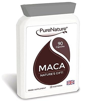 Maca Root Capsules 3000mg - 90 Capsules - 3 Month Supply