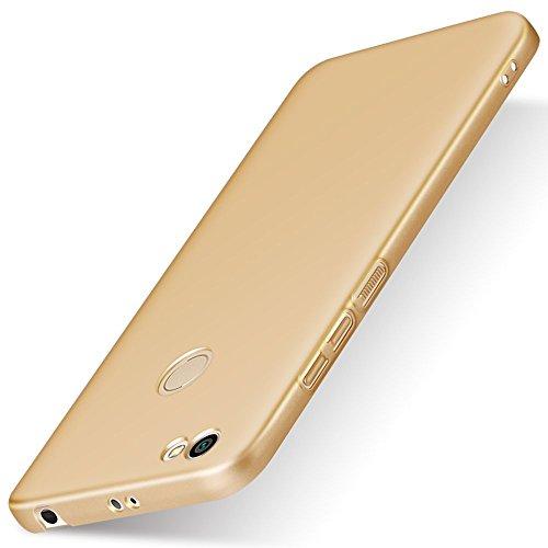 SPAK Xiaomi Redmi Note 5A Prime,Xiaomi Redmi Y1 Hülle, Qualitäts Schutzhülle Harter PC rückseitiger Abdeckungs Handyhülle Fall Cover für Xiaomi Redmi Note 5A Prime,Xiaomi Redmi Y1 (QB-Golden)