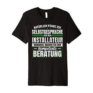 Geschenk Installateur Lustiges Bad Sanitär T-Shirt
