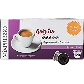 120 Nespresso Capsules (Compatible) – Italian Coffee – By Mixpresso