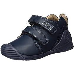 Biomecanics 161141, Zapatos de Primeros Pasos para Bebés, Azul Marino (Sauvage), 21 EU