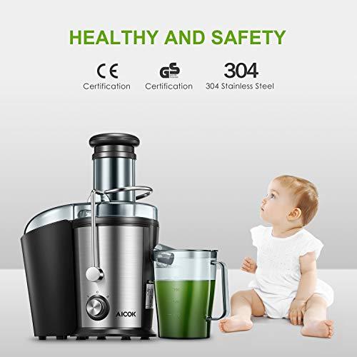 Zentrifugenentsafter 800W für Obst und Gemüse kaufen  Bild 1*