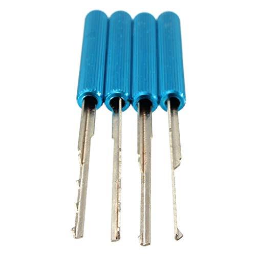 41Z%2BArf1UzL - Yongse DANIU 18Pcs Dimple Lock Pick Tools Herramienta de cerrajería de Apertura de Puerta de combinación